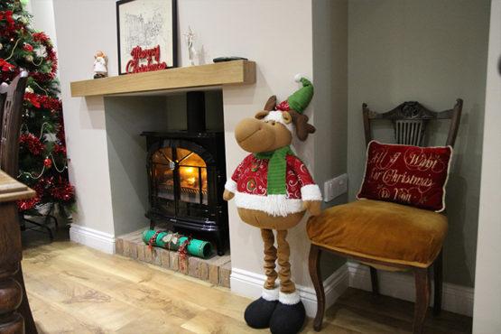 Gleneagles Tea Rooms at Christmas - Southend