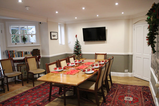 Meeting Room - Christmas - Gleneagles Guesthouse, Southend