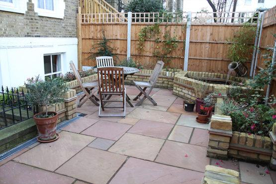 Gleneagles patio / private garden area