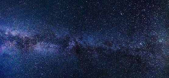 Planetarium - starry sky